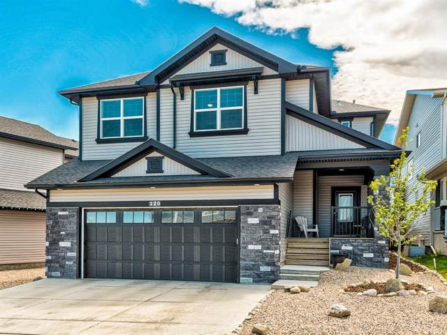 220 Hillcrest Drive SW, Airdrie, AB T4B 4C5 (#A1018720) :: Redline Real Estate Group Inc