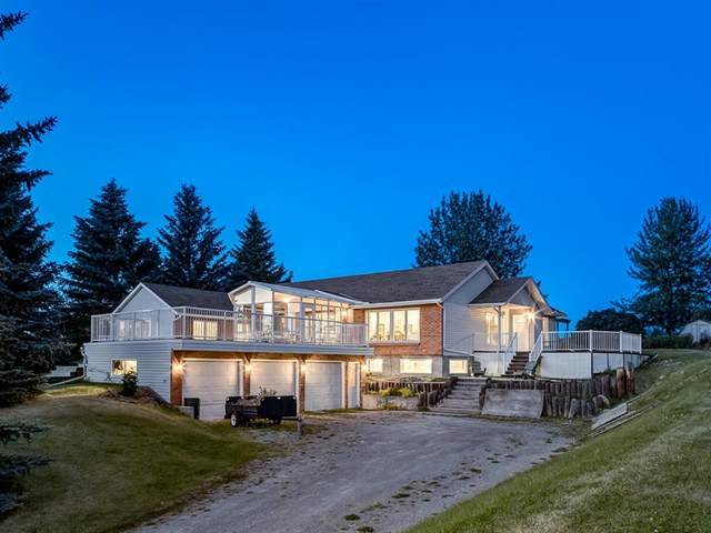 242098 White Post Lane W #100, Rural Foothills County, AB T1S 3A3 (#A1019059) :: Canmore & Banff