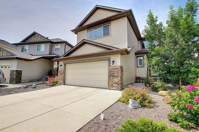 390 Cimarron Boulevard, Okotoks, AB T1S 0A8 (#A1019086) :: Canmore & Banff