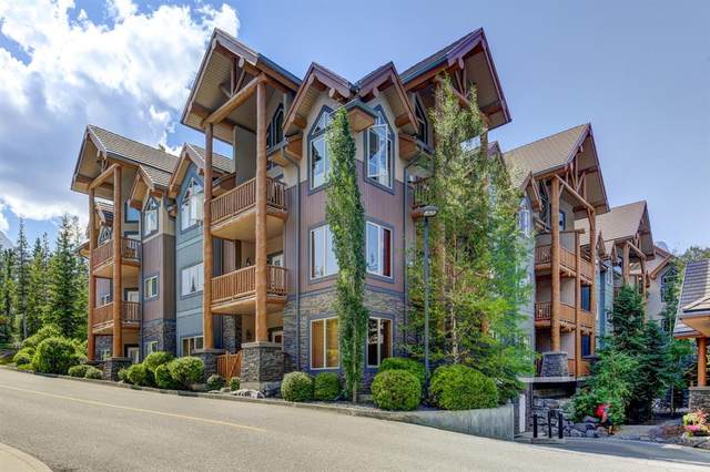 155 Crossbow Place #105, Canmore, AB T1W 3H6 (#A1019299) :: Redline Real Estate Group Inc