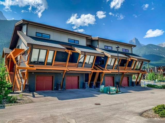 105 Stewart Creek Rise #802, Canmore, AB T1W 0J5 (#A1019395) :: Redline Real Estate Group Inc