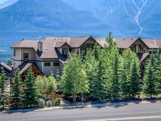 801 Benchlands Trail NE #302, Canmore, AB T1W 0B6 (#A1019404) :: Canmore & Banff