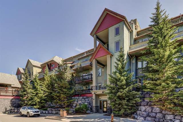 109 Montane Road #201, Canmore, AB T1W 3J2 (#A1019473) :: Canmore & Banff