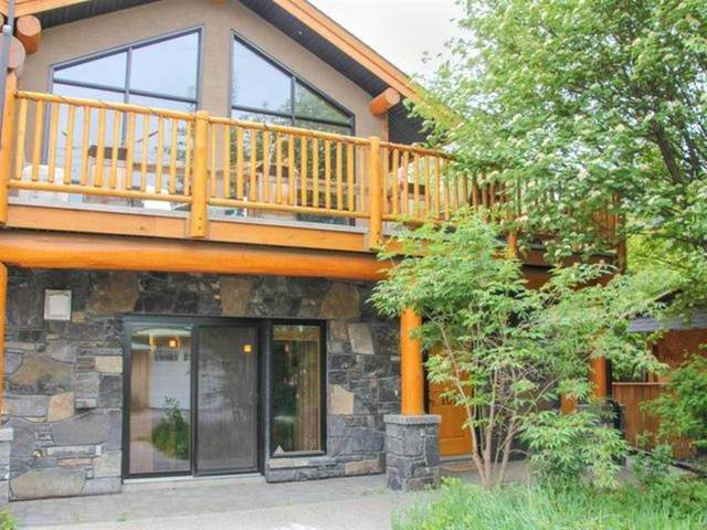 714 3RD Street #102, Canmore, AB T1W 2J6 (#A1019494) :: Canmore & Banff