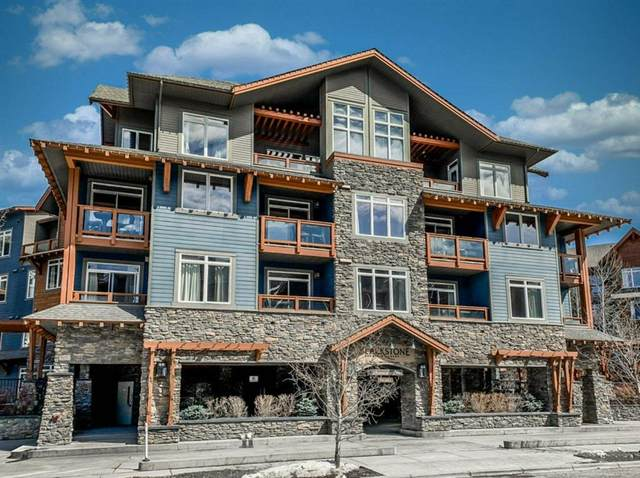 170 Kananaskis Way #220, Canmore, AB T1W 0A8 (#A1019562) :: Canmore & Banff