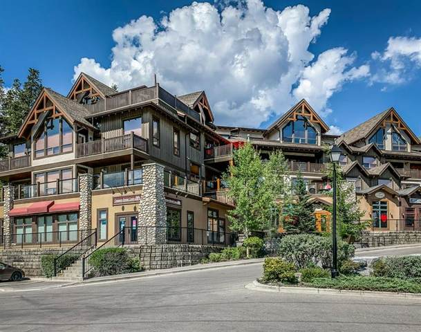 701 Benchlands Trail #301, Canmore, AB T1W 3G9 (#A1019665) :: The Cliff Stevenson Group