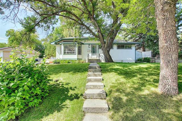 287 Hendon Drive NW, Calgary, AB T2K 1Z4 (#A1019712) :: Canmore & Banff