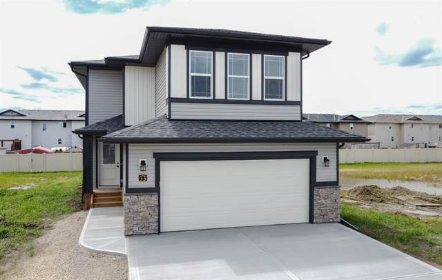 33 Panorama Avenue, Lacombe, AB T4L 0J4 (#A1019926) :: Canmore & Banff
