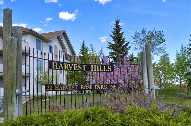 20 Harvest Rose Park NE #3110, Calgary, AB T3K 4Z1 (#A1020036) :: Redline Real Estate Group Inc