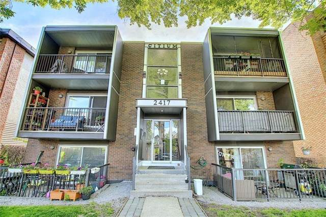 2417 17 Street SW #301, Calgary, AB T2T 4M9 (#A1020133) :: Redline Real Estate Group Inc