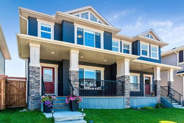 161 Willow Green, Cochrane, AB T4C 0Y9 (#A1020334) :: Redline Real Estate Group Inc