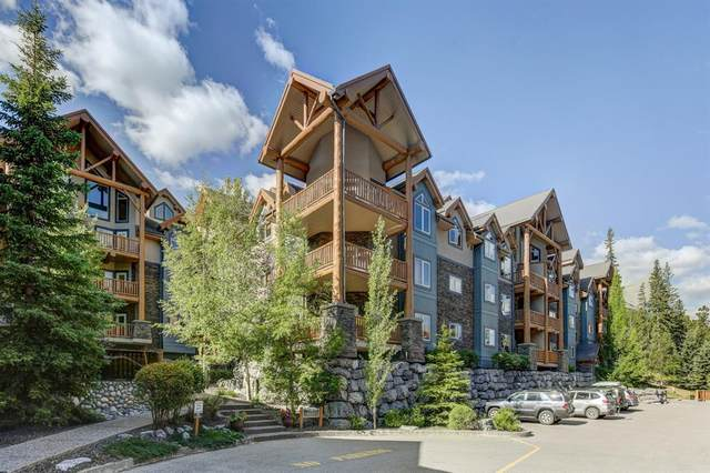 155 Crossbow Place #309, Canmore, AB T1W 3H6 (#A1021061) :: Canmore & Banff