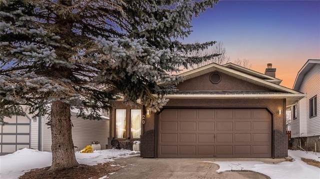 20 Mckernan Court SE, Calgary, AB T2Z 1T3 (#A1021136) :: Redline Real Estate Group Inc