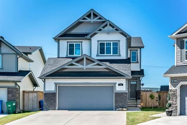 231 Cimarron Vista Way, Okotoks, AB T1S 0K7 (#A1021435) :: Redline Real Estate Group Inc