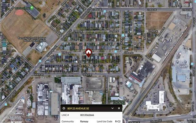 809 23 Avenue SE, Calgary, AB T2G 1N7 (#A1021447) :: Western Elite Real Estate Group