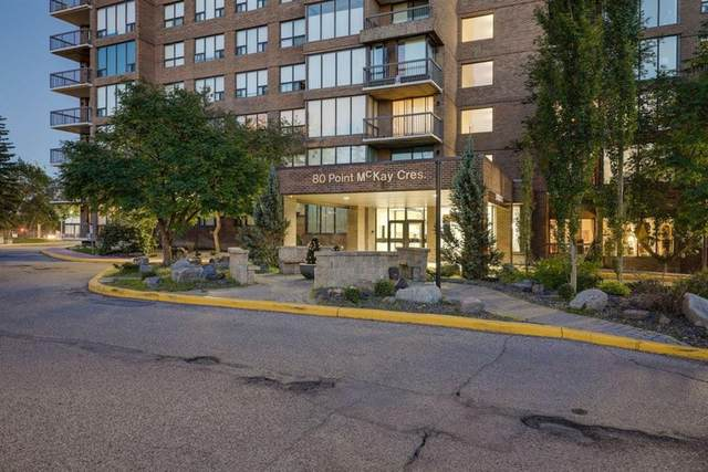 80 Point Mckay Crescent NW #1804, Calgary, AB T3B 4W4 (#A1021455) :: Team J Realtors