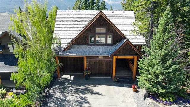 218 Benchlands Terrace, Canmore, AB T1W 1G1 (#A1021481) :: Canmore & Banff