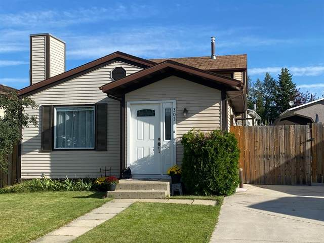303 Collinge Road, Hinton, AB T7V 1L3 (#A1021519) :: Canmore & Banff