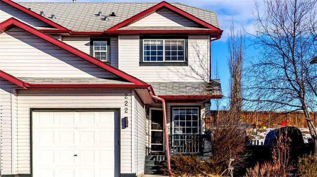222 Quigley Drive, Cochrane, AB T4C 1T3 (#A1021657) :: Redline Real Estate Group Inc