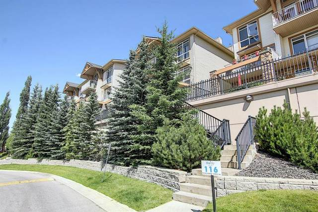 108 Rockyledge View NW #4, Calgary, AB T3G 5X2 (#A1022347) :: Redline Real Estate Group Inc