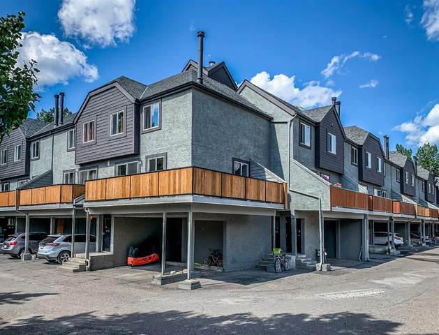 1119 Railway Avenue #27, Canmore, AB T1W 1R4 (#A1022933) :: Redline Real Estate Group Inc