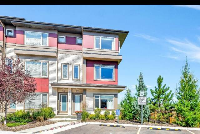 501 River Heights Drive #703, Cochrane, AB T4C 2L3 (#A1023192) :: Calgary Homefinders