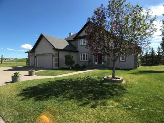 141 Sharp Hill Drive, Rural Rocky View County, AB T0M 0E0 (#A1023482) :: Calgary Homefinders