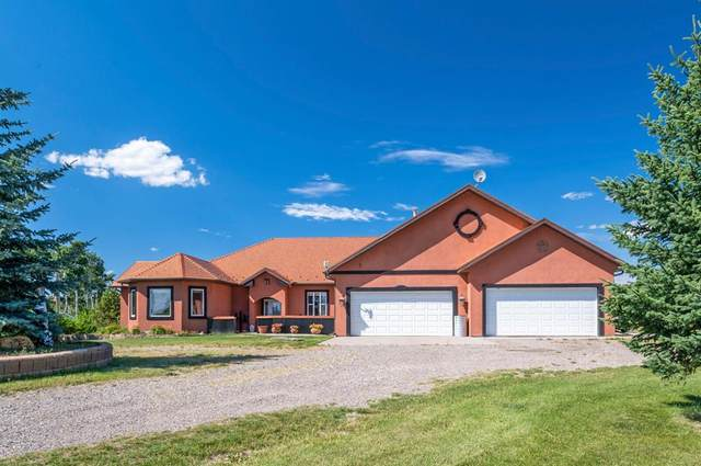 9 Westward Heights, Rural Mountain View County, AB T0M 2E0 (#A1023572) :: Canmore & Banff