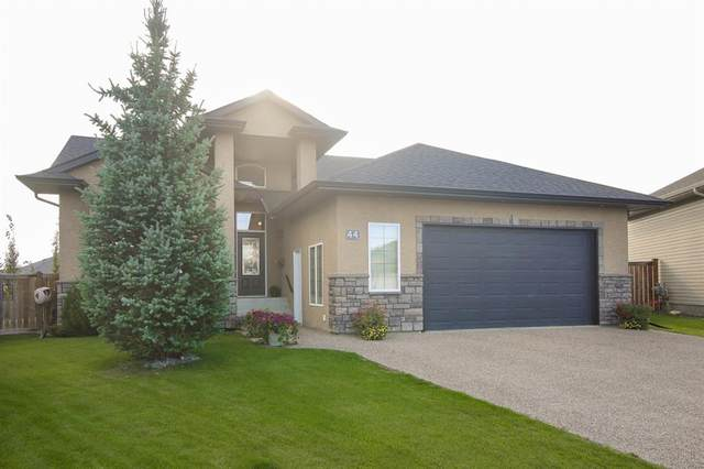 44 Emily Crescent, Lacombe, AB T4L 0A5 (#A1023625) :: Redline Real Estate Group Inc