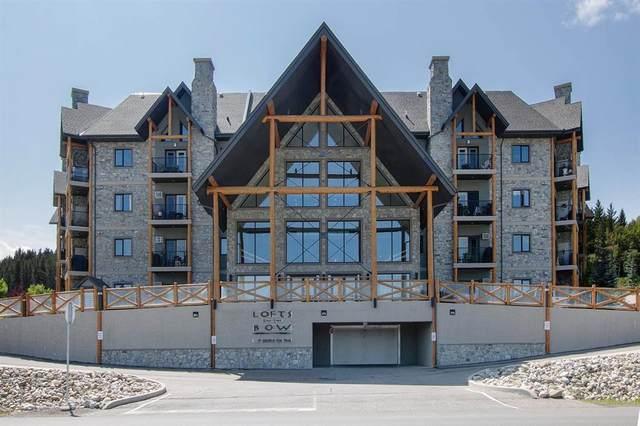 77 George Fox Trail #408, Cochrane, AB T4C 2A2 (#A1023724) :: Western Elite Real Estate Group