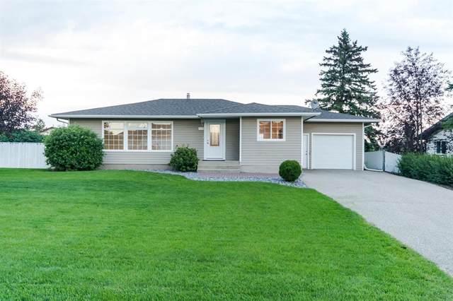 4908 Johnson Avenue, Lacombe, AB T4L 1Z2 (#A1024303) :: Canmore & Banff