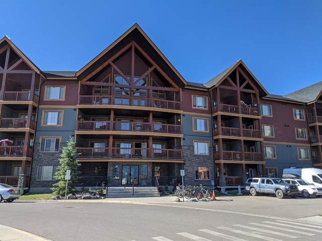 300 Palliser Lane #308, Canmore, AB T1W 0H5 (#A1024343) :: Canmore & Banff