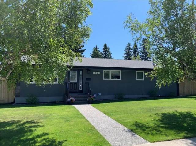55 Gainsborough Drive SW, Calgary, AB T3E 4W6 (#A1026376) :: Redline Real Estate Group Inc