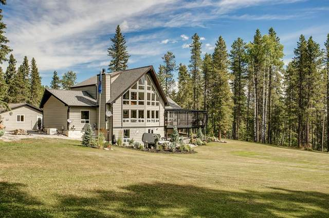231224 Forestry Way, Bragg Creek, AB T0L 0K0 (#A1026669) :: Canmore & Banff