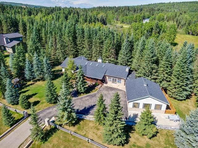 14 Mountain Lion Drive, Bragg Creek, AB T0L 0K0 (#A1026882) :: Canmore & Banff