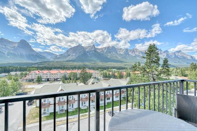 1818 Mountain Avenue 402A, Canmore, AB T1W 3M3 (#A1028049) :: Western Elite Real Estate Group