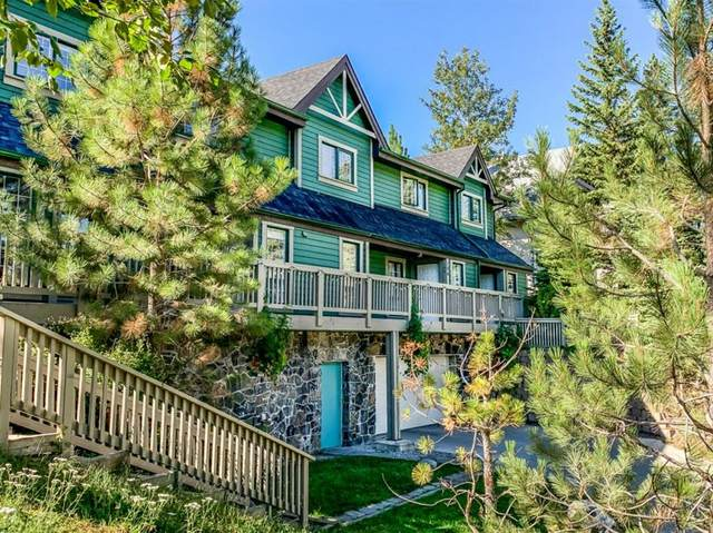 117 Cave Avenue #102, Banff, AB T1L 1B1 (#A1028624) :: Canmore & Banff