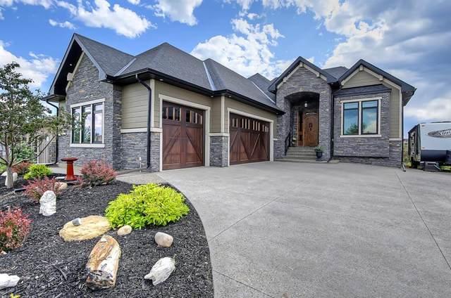 15 Cimarron Estates Gate, Okotoks, AB T1S 0M9 (#A1028995) :: Canmore & Banff