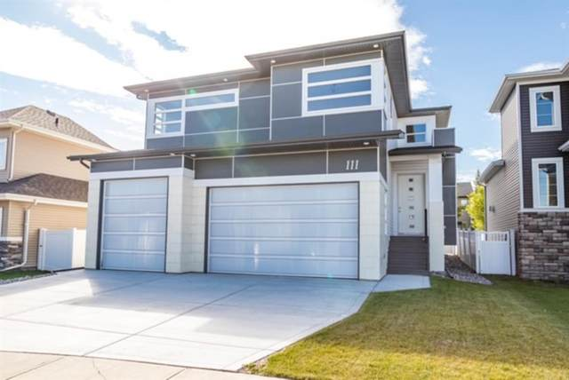 111 Voisin Close, Red Deer, AB T4R 0N1 (#A1030004) :: Western Elite Real Estate Group
