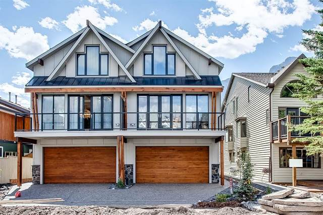 805 5TH Street 3 NW, Canmore, AB T1W 2G1 (#A1030341) :: Calgary Homefinders