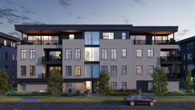 275 Lebel Crescent NW #202, Calgary, AB T3B 6G6 (#A1030745) :: Canmore & Banff