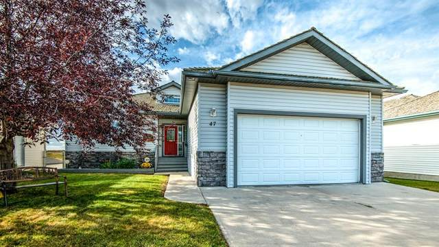 47 Strathmore Lakes Crescent, Strathmore, AB T1P 1R1 (#A1030953) :: Canmore & Banff
