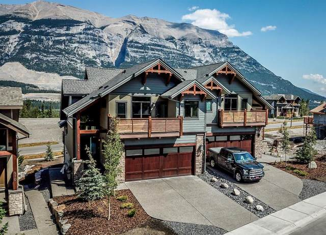 474 Stewart Creek Close, Canmore, AB T1W 0L7 (#A1031044) :: Calgary Homefinders