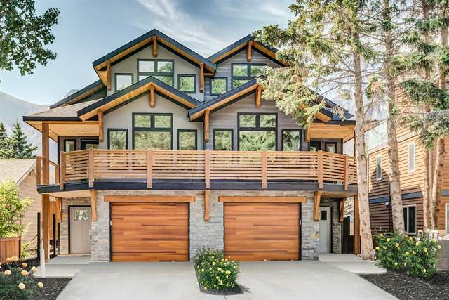 1235 1st Avenue #2, Canmore, AB T1W 1M5 (#A1031060) :: Western Elite Real Estate Group