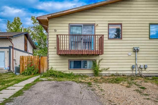 77 Fonda Drive SE, Calgary, AB T2A 3E2 (#A1031261) :: Team J Realtors