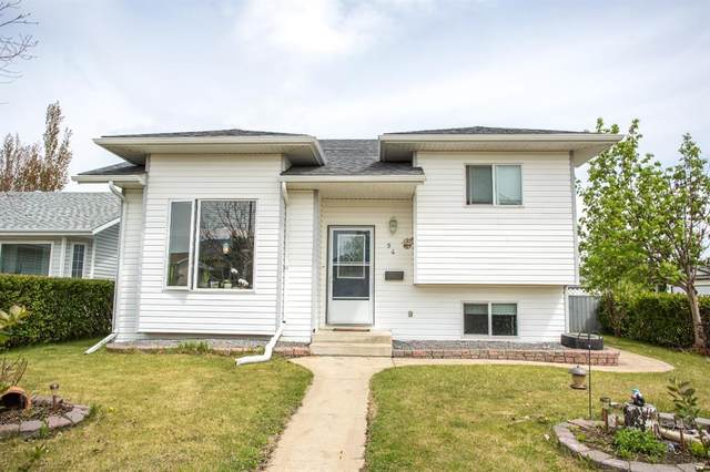 94 Langley Close, Lacombe, AB T4L 1P4 (#A1031582) :: Canmore & Banff
