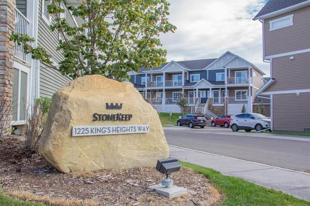 1225 Kings Heights Way SE #1101, Airdrie, AB T4A 0T7 (#A1031838) :: Team J Realtors