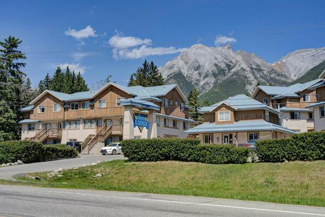 1000 Harvie Heights Road #211, Harvie Heights, AB T1W 2W2 (#A1031899) :: Canmore & Banff