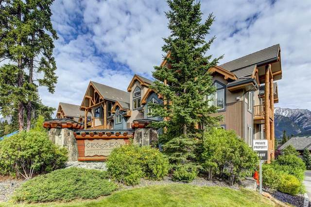 155 Crossbow Place #101, Canmore, AB T1W 3H6 (#A1032249) :: Team J Realtors