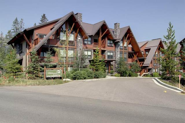 2300C Stewart Creek Drive #101, Canmore, AB T1W 0G3 (#A1032266) :: Team J Realtors